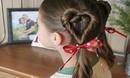 【独播】有女儿就这样给她梳头发吧!心形公主扎发【美容美发直通车57】