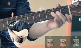 19C大调和弦转换-分指练习