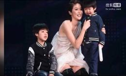 陈慧琳携自开个唱 小儿子嗨爆全场
