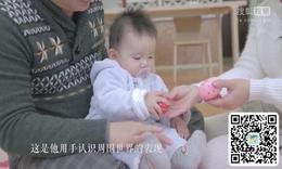 如何引导宝宝用手认识物体