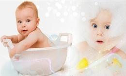 给宝宝洗澡的小窍门!